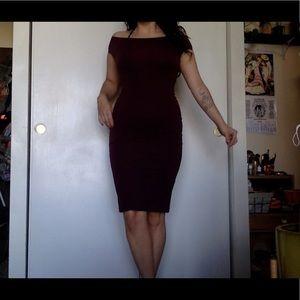 American Apparel body con pencil dress
